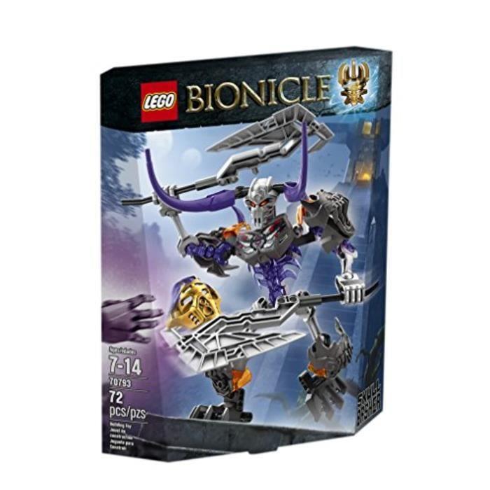 Jeu D'Assemblage LEGO CUKXH Bionicle 7793 Kit de construction Skull Basher