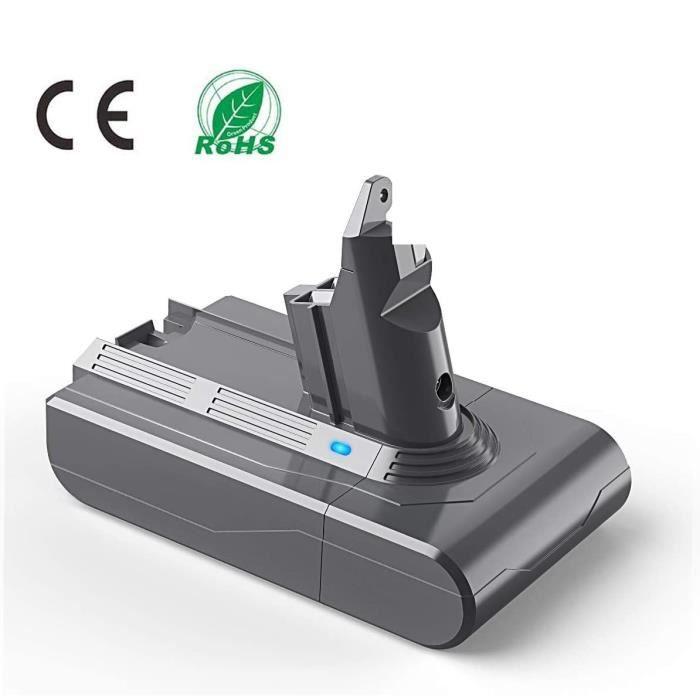 LENKENG Batterie Aspirateur Dyson V6 21.6V 3500mAh Compatible DC58 DC59 DC61 DC62 DC72