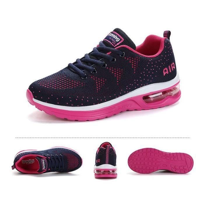 Chaussures de Running Femme Activité Extérieur Aération Antichoc