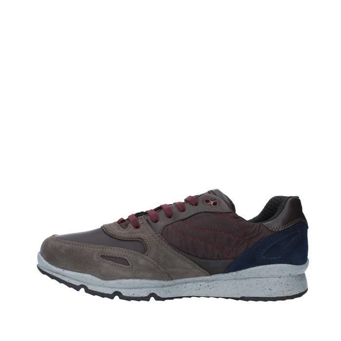 Geox U44S7A022FU chaussures de tennis faible homme MARRON