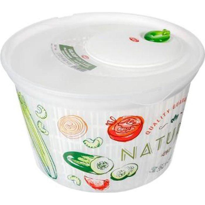 Essoreuse à Salade -Nature- 4L Multicolore