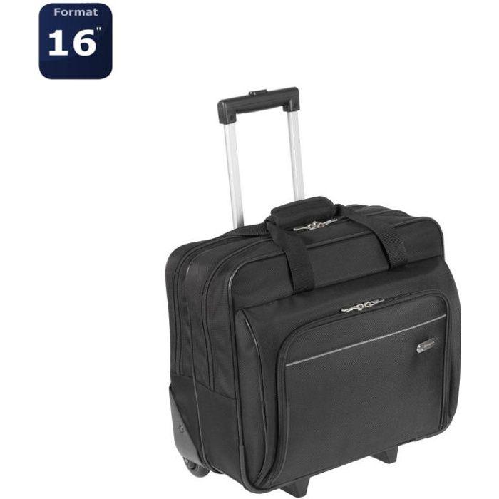 TARGUS Sacoche à roulettes pour ordinateur portable Executive 15,6 pouces - Noir