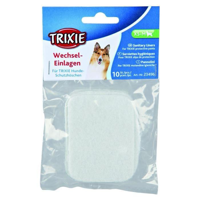 TRIXIE Serviettes hygiéniques pour chien
