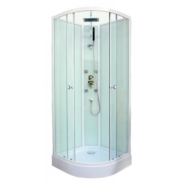 cabine de douche hydromassante astro 1 4c 80cm achat vente cabine de douche cabine de douche. Black Bedroom Furniture Sets. Home Design Ideas