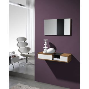 meuble d 39 entr e moderne miroir agostino disponi achat vente meuble d 39 entr e meuble d. Black Bedroom Furniture Sets. Home Design Ideas