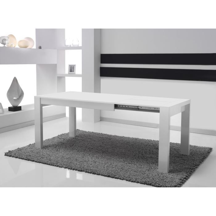 table de salle manger rallonges tossi 710 achat. Black Bedroom Furniture Sets. Home Design Ideas
