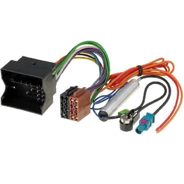 Hama Adaptateur v/éhicule ISO pour Citro/ën Peugeot
