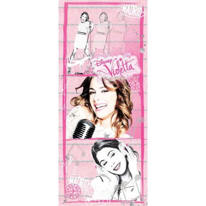 Violetta d coration murale poster de porte papier for Poster decoration murale
