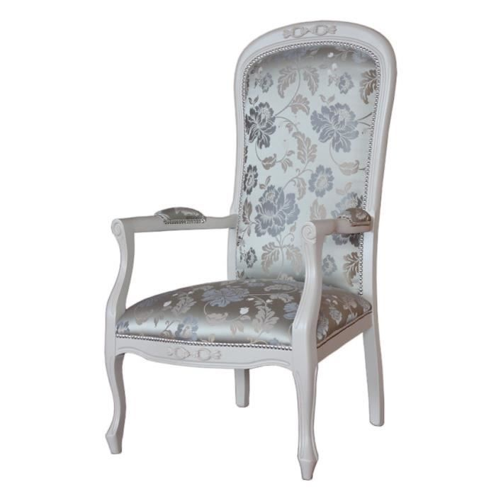 Fauteuil voltaire chic achat vente fauteuil cdiscount for Chaise voltaire