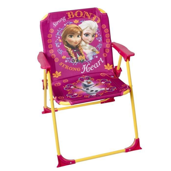 chaise pliable pour enfant frozen reine des neiges achat. Black Bedroom Furniture Sets. Home Design Ideas