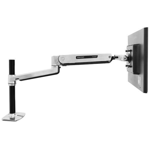 Ergotron Lx Sit Stand Desk Mount Lcd Arm Polished Prix