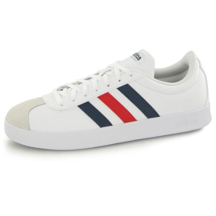 Vl mode 2 homme Court blanc 0 Neo baskets Adidas q54gSS