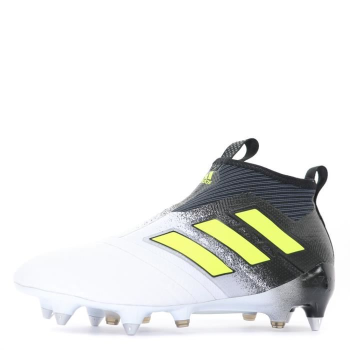 Ace 17+ Purecontrol SG Homme Chaussures Football Blanc Noir Adidas
