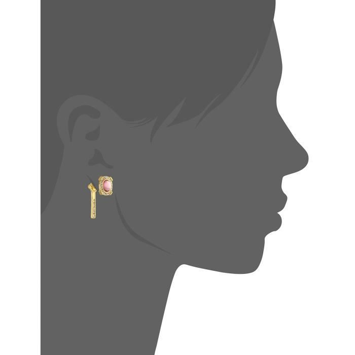 Rebecca Minkoff Halo Stud Front With Linear Stick Back Earring Jackets WEH4G