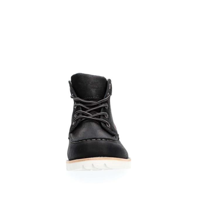 LEVIS BOTTINES Homme BLACK, 40