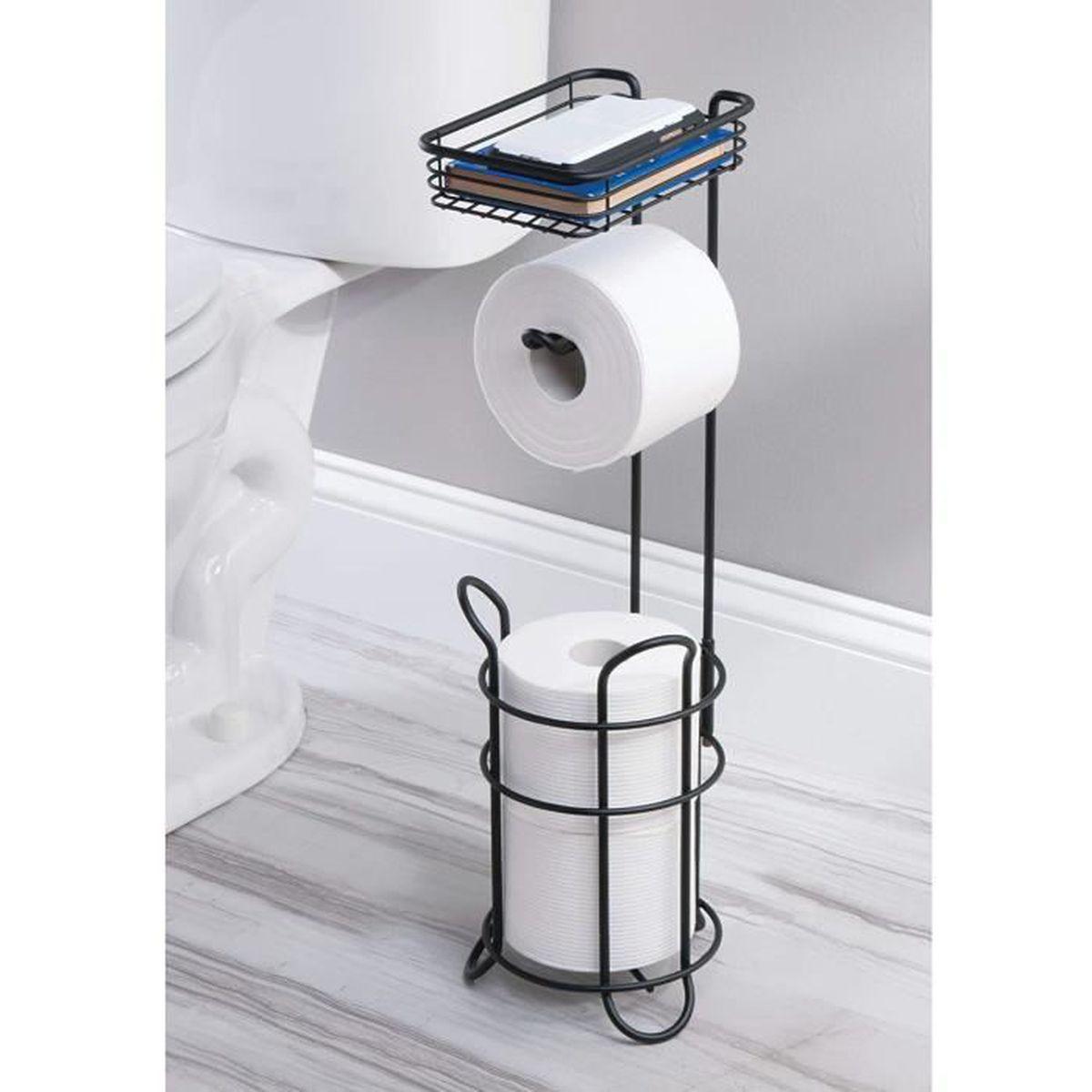 Dérouleur Papier Wc Metal porte papier toilette – dérouleur papier toilette élégant en