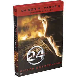 DVD SÉRIE DVD 24 heures chrono, saison 4b