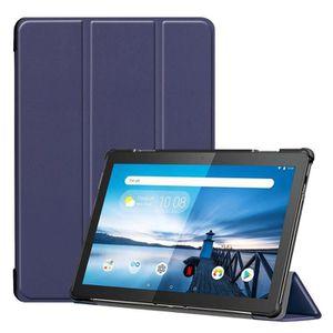EasyAcc /Étui de Protection Fin en Verre blind/é pour Lenovo Tab M10 FHD Plus 10,3 avec Fonction Support et Mise en Veille//r/éveil Automatique pour Lenovo Tab M10 Plus,Paon Bleu