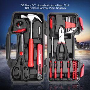 39 Piece Precision voiture Ménage Hand Tool Kit Set Boîte avec dur étui rangement