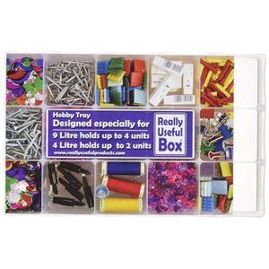 BOITE DE RANGEMENT Really Useful Boxes 4L Box avec 2X 15 diviseur Tra