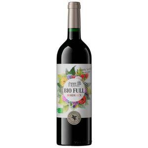 VIN ROUGE 6 x Bio Full Bordeaux vin rouge Bio Sans Soufre et