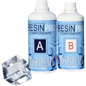 RÉSINE CRÉATIVE RESINE EPOXY TRANSPARENTE 1,6 kg
