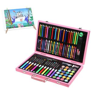 CRAYON DE COULEUR 120Pcs Colore Crayons de Dessin Art Set; Malette d