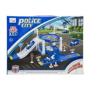 UNIVERS MINIATURE Garage Voiture Police City - Polier Jeu Jouet Enfa