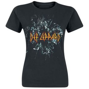 T-SHIRT Def Leppard Let's Get Rocked T-Shirt Manches court
