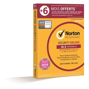 ANTIVIRUS Norton Security Deluxe 2019 | 5 Apps | 12+6 mois |