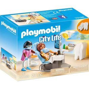 UNIVERS MINIATURE PLAYMOBIL 70198 - City Life L'Hôpital - Dentiste -