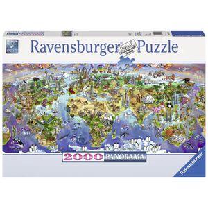 PUZZLE RAVENSBURGER Puzzle 2000 p - Merveilles du monde