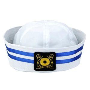 4X Femme Homme Sailor Hat marin marine matelot marine capitaine Robe Fantaisie Unisexe
