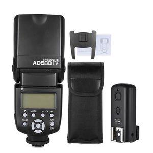 FLASH Andoer AD560 IV 2.4G Sans fil Esclave Speedlite Fl