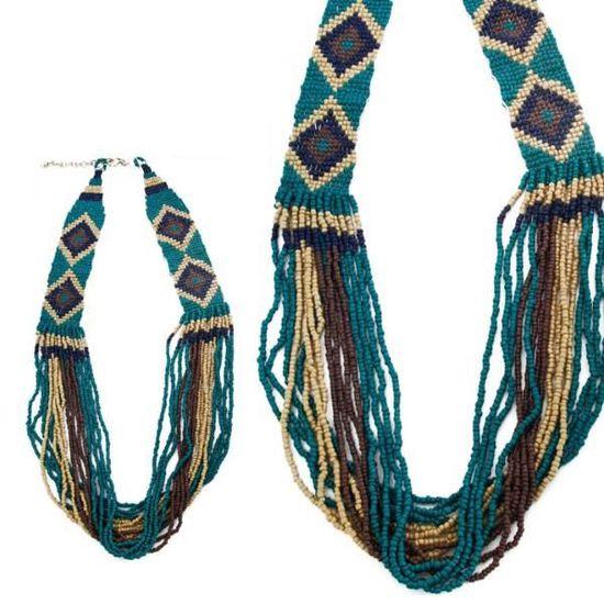 collier perle indien