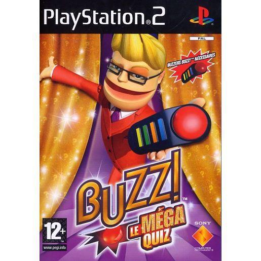 BUZZ LE MEGA QUIZZ / jeu console PS2