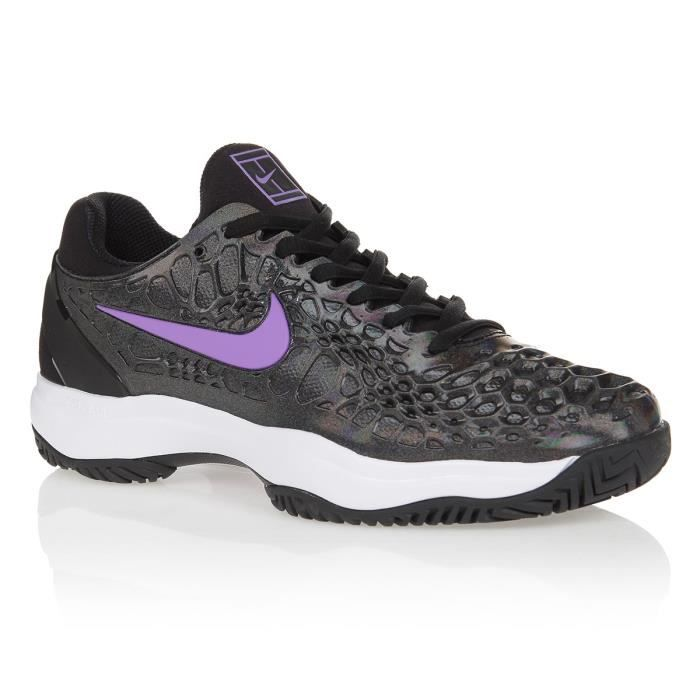 NIKE Chaussures de tennis Air Zoom Cage 3 HC - Noir