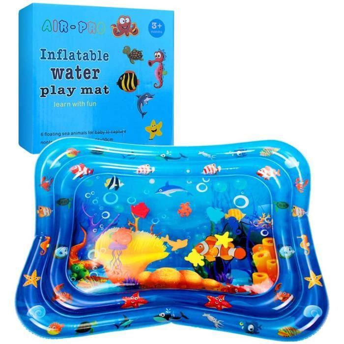 Tapis d'éveil Tapis d'eau bébé Matelas Eau Bebe Poisson Enfants Sensoriel Jouets