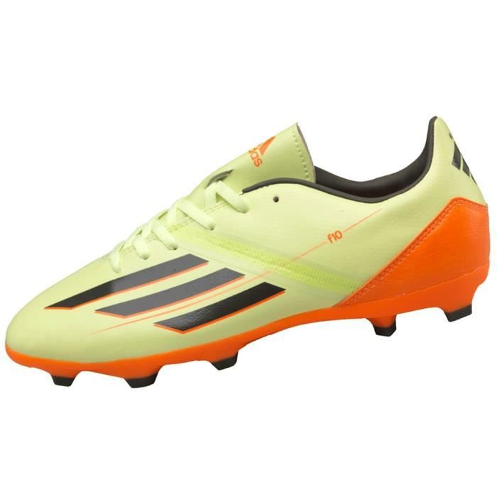 Chaussure de foot F10 TRX HG Junior jaune
