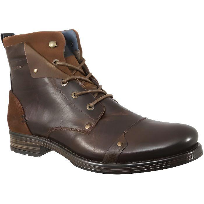 chaussures ville redskins yedes marron