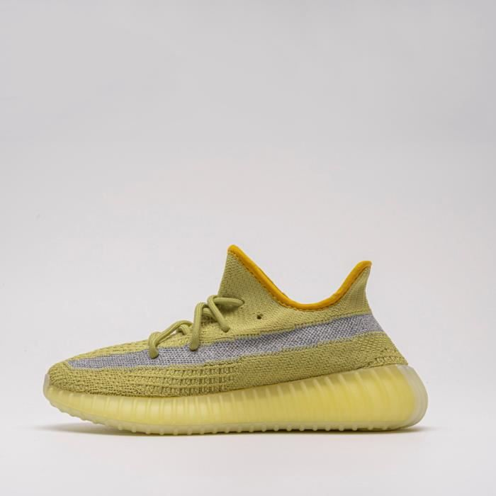 Basket Yezzy BOOST 350 V2 -Marsh- Real Boost FX9034 Chaussures de Running Homme Femme - Jaune
