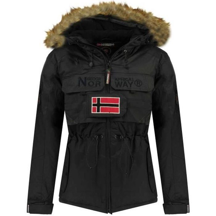 Parka Homme Geographical Norway Bench Noir