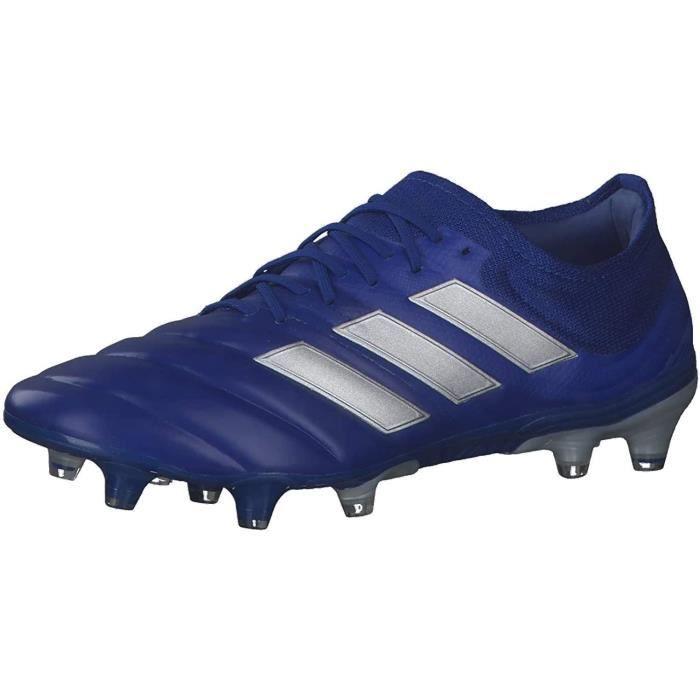 Adidas Copa 20.1 Fg, Chaussures de Football Homme, Azure A / Plamet / Azure A, 46 Eu