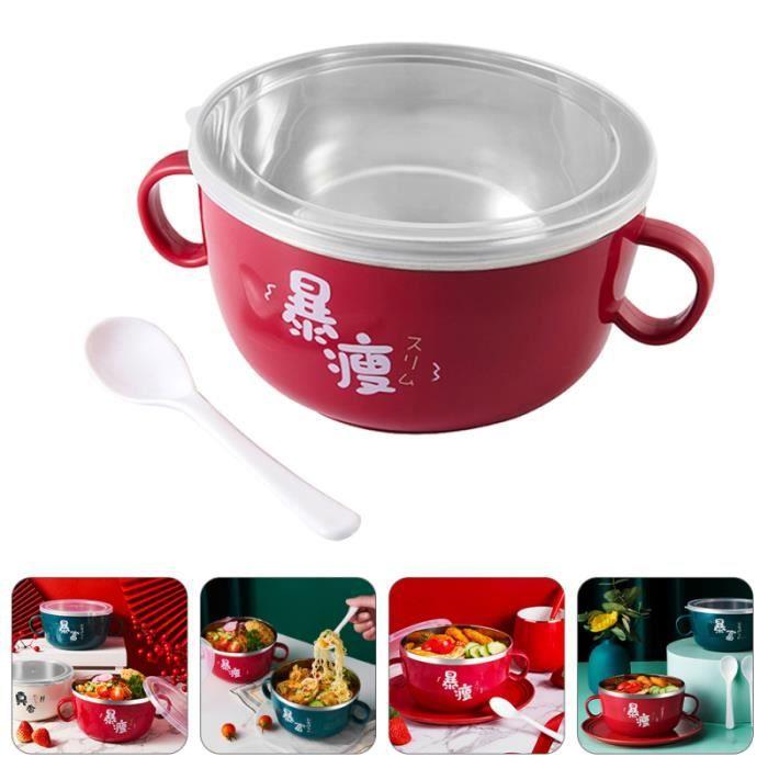 Boîte à lunch de récipient de plat de bol 1pc pour la soupe aux nouilles instantanées BOL