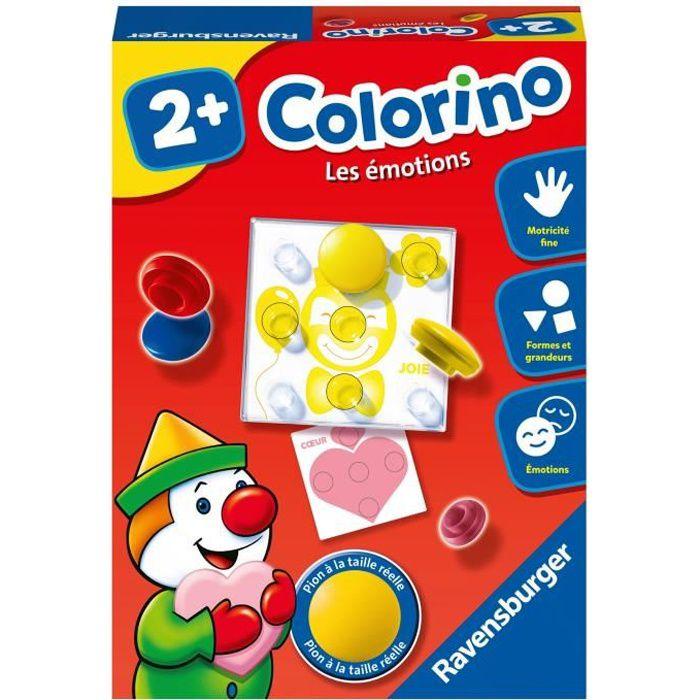 Colorino Les émotions - Jeu éducatif - Apprentissage des couleurs - Activités créatives enfant - Ravensburger - Dès 2 ans