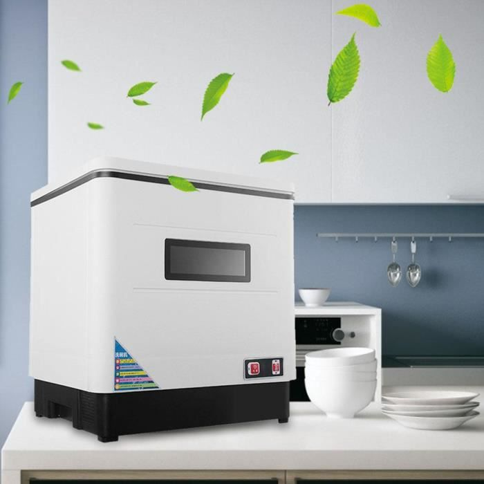 Lave-vaisselle ,2000W Lave vaisselle posable - Inox WE11172