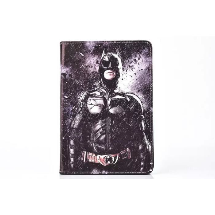 etui samsung galaxy tab 4 10 1 t530 noir batman tablette. Black Bedroom Furniture Sets. Home Design Ideas