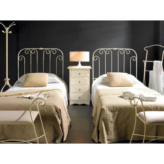 t tes de lit pour enfants en fer forg mod le villeurbanne t te de lit couleurs choisir. Black Bedroom Furniture Sets. Home Design Ideas