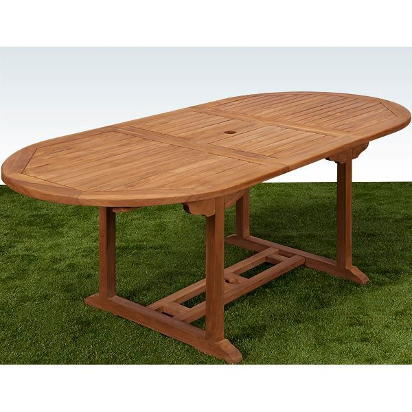 awesome table de jardin en bois eucalyptus pictures
