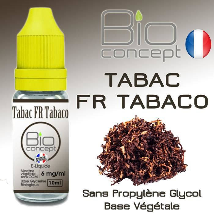 e liquide bio concept tabac fr tabaco 11mg 10ml eliquide fran ais bio 100 v g tal sans. Black Bedroom Furniture Sets. Home Design Ideas